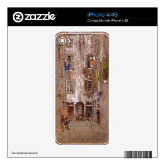 Paradise Court by James McNeill Whistler iPhone 4S Decal