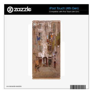 Paradise Court by James McNeill Whistler iPod Touch 4G Skins
