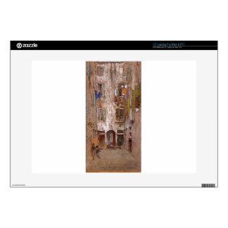 Paradise Court by James McNeill Whistler Laptop Skin