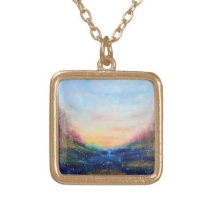 Paradise Cove Gold Finish Necklace