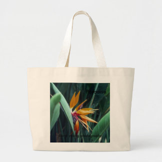 Paradise, diane young photography large tote bag