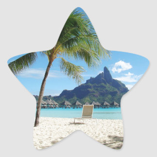 Paradise Does Exist Star Sticker