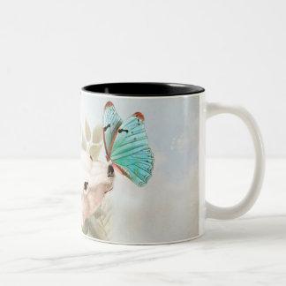 Paradise draws Two-Tone coffee mug