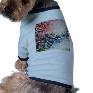 PARADISE DREAMS Colorful Abstract Painting Dog Clothes