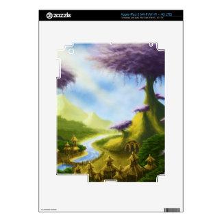 paradise fantasy iPad skin