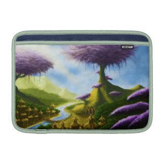 paradise fantasy landscape macbook sleeve