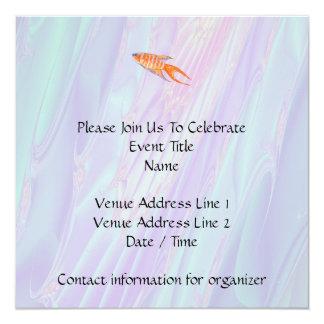 Paradise Fish. Card