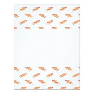 Paradise Fish Pattern. Card