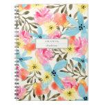 Paradise Floral Print Notebooks