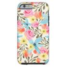 Paradise Floral Print Tough iPhone 6 Case