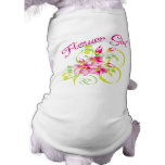 Paradise Flowergirl T-shirts and Gifts Pet Clothing