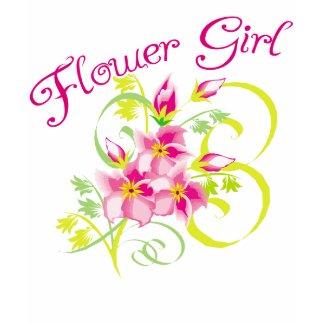 Paradise Flowergirl Tee Shirt from lesruba weddings