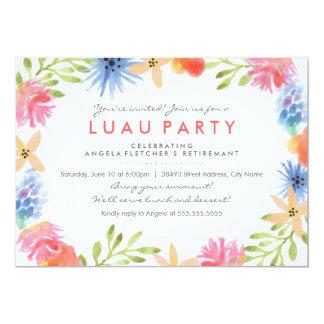Paradise Flowers Retirement Party Invite