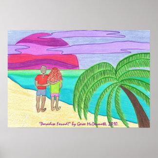 """Paradise Found!"" Print"