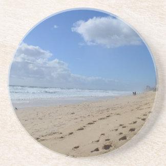 Paradise Found Sandstone Coaster