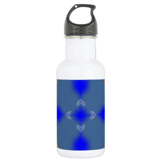 Paradise Frame  by CGB Digital Art .png Water Bottle