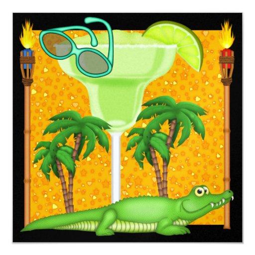 Paradise Gator - SRF Invitation