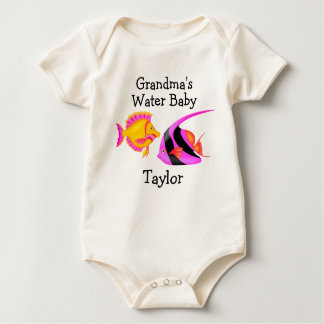 Paradise Grandma's Water Baby - SRF Baby Bodysuit