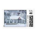Paradise Green Gazebo Stratford CT Postage Stamp