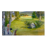 Paradise in Sweden 1910 Business Card Template