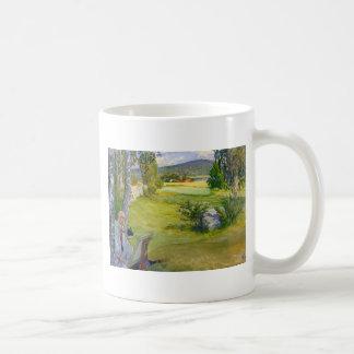 Paradise in Sweden 1910 Coffee Mug
