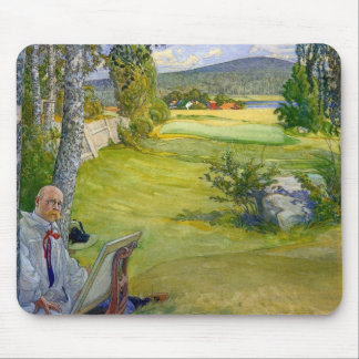 Paradise in Sweden 1910 Mouse Pad