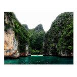 Paradise in Thailand Postcard