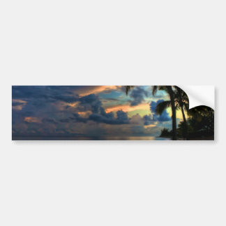 Paradise... is where you are! car bumper sticker
