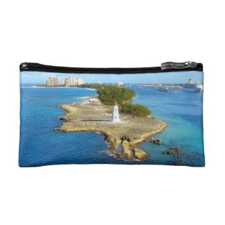 Paradise Island Bahamas Light Cosmetic Bag