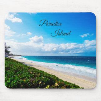 Paradise Island Beach Mouse Pad