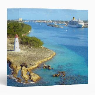 Paradise Island Light Vinyl Binder