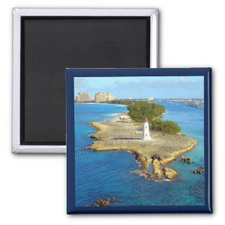 Paradise Island Light Magnet