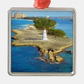 Paradise Island Light Metal Ornament