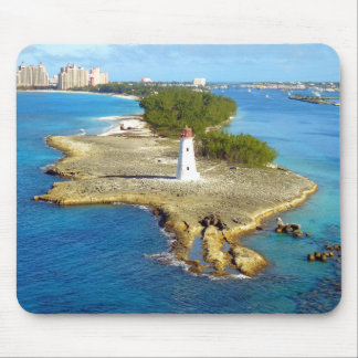Paradise Island Light Mouse Pad