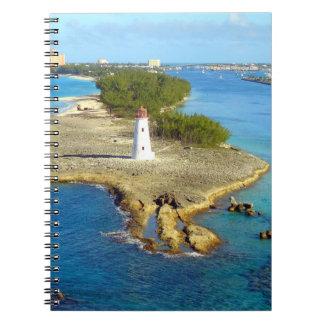 Paradise Island Light Notebook