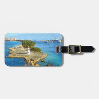Paradise Island Light Personalized Bag Tag