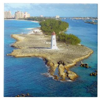 Paradise Island Light Ceramic Tile