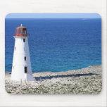Paradise Island Lighthouse Mouse Pad