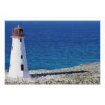 Paradise Island Lighthouse Posters