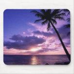 Paradise Island Mouse Pad