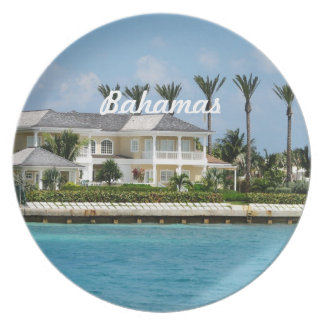 Paradise Island Party Plate