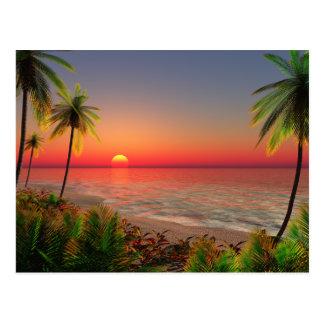 Paradise Island Post Card