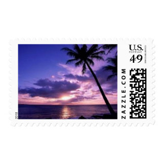 Paradise Island Postage Stamps