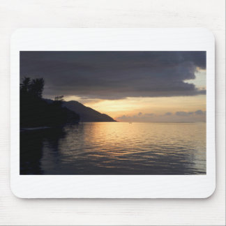 Paradise island sunset Raja Ampat Mouse Pad