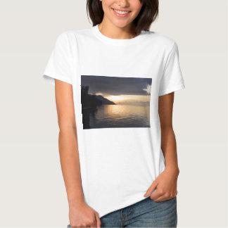 Paradise island sunset Raja Ampat T-shirt