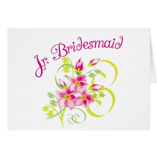 Paradise Jr. Bridesmaid Cards