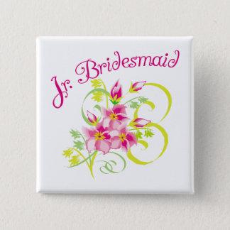 Paradise Jr. Bridesmaid Favors Button
