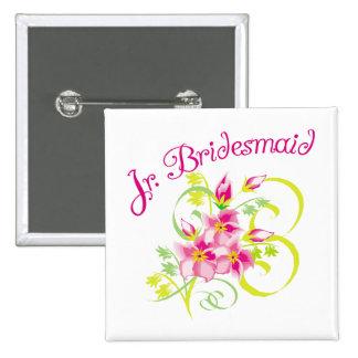 Paradise Jr. Bridesmaid Favors Buttons