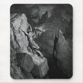"""""""Paradise Lost"""" 1 Mouse Pad"""