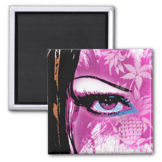 paradise lost 2 inch square magnet